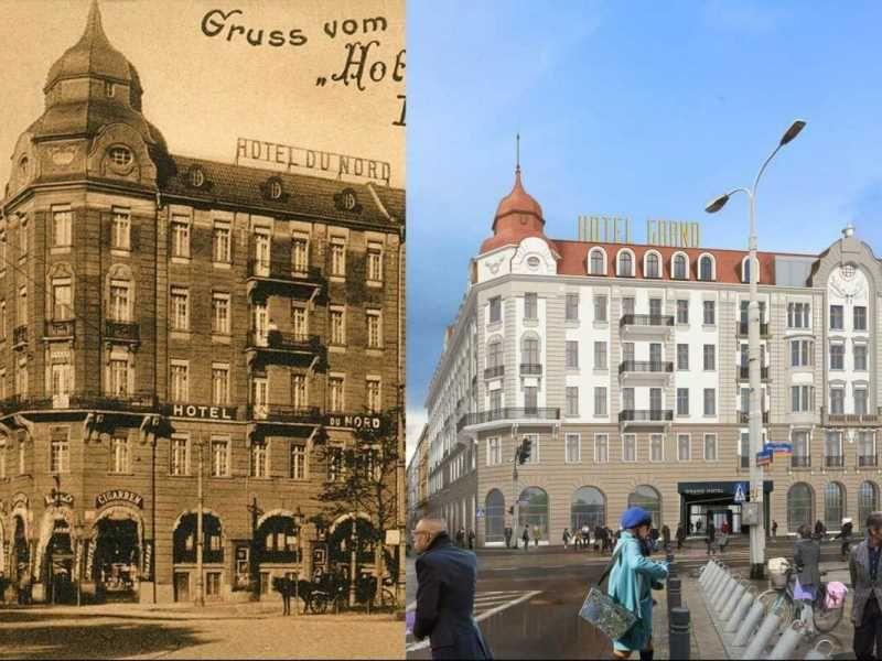 Das Historische Hotel Grand Wird Renoviert Fotos