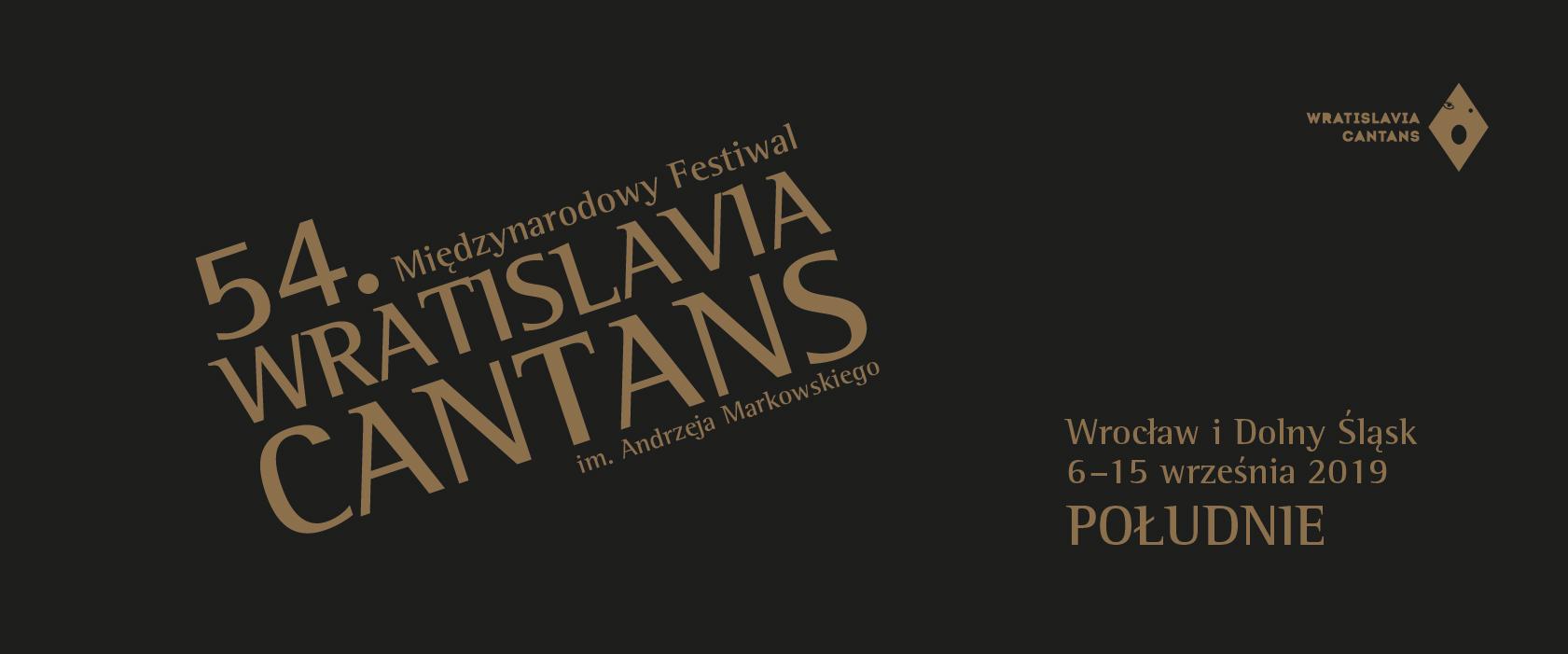 International Festival Wratislavia Cantans 2019  Tickets